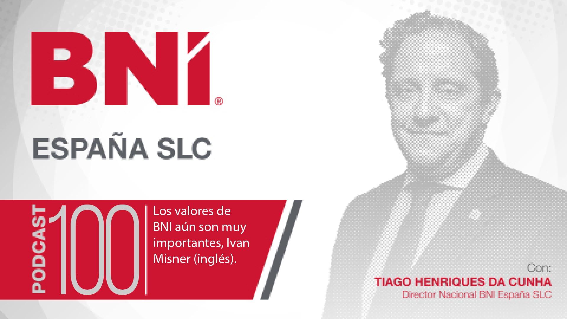 Tiago Henriques Da Cunha Director Nacional BNI España