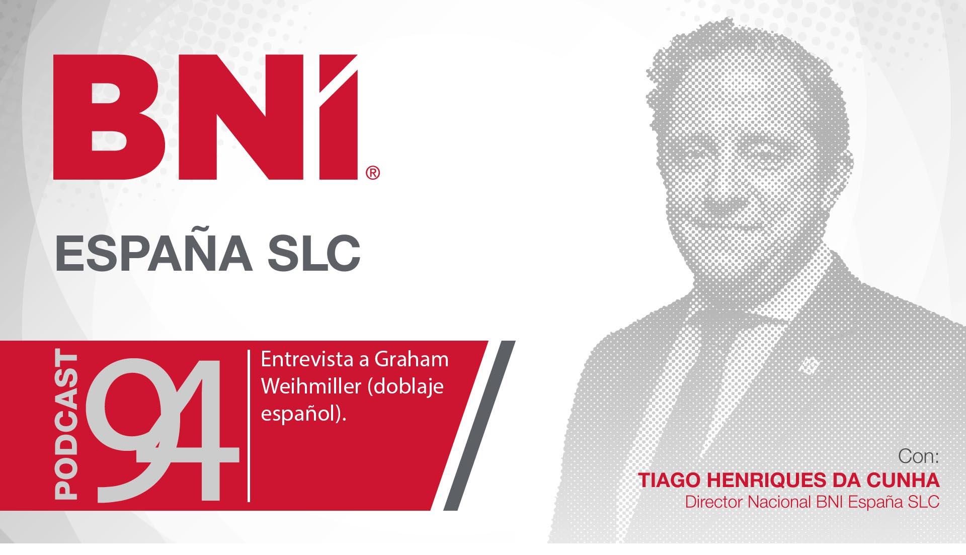 Tiago Henriques Da Cunha, director general BNI España - Podcast 94